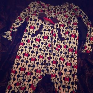 Minnie Mouse adult size onesie